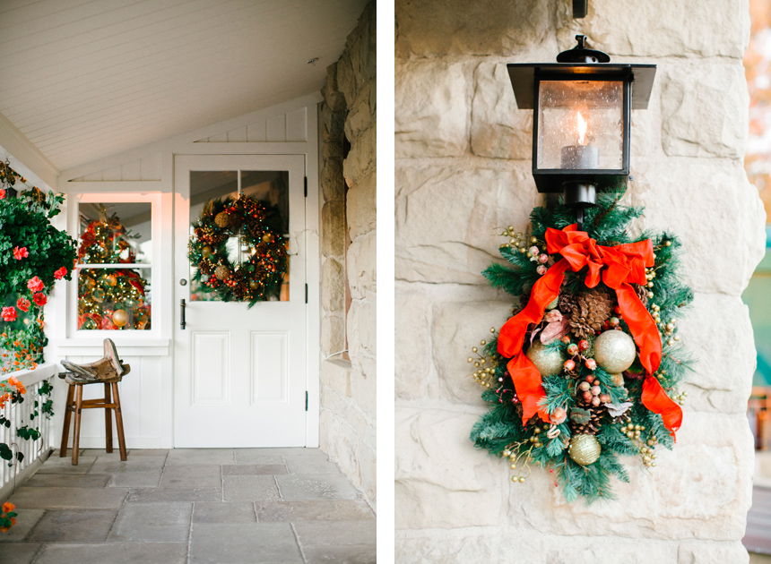 San Ysidro Ranch Christmas Wedding